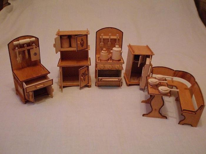 Игрушечная мебель для куклы своими руками 680
