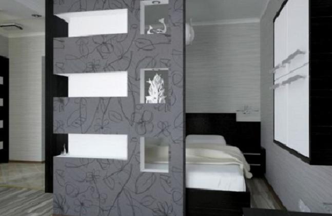 Дизайн комнаты 20 кв.м с нишей