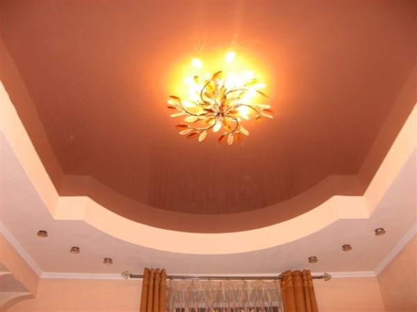 Дизайн потолков из гипсокартона фото для зала фото