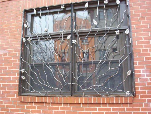 Решетка на окнах схема
