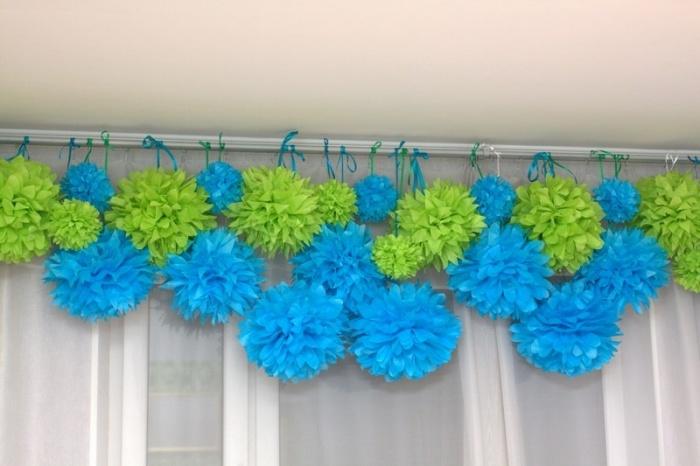 как сделать огромные цветы своими руками для украшения зала