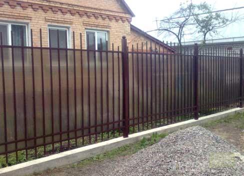 арматурный забор