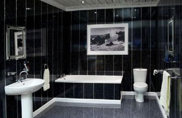 Как сделать пвх панели в ванной 182