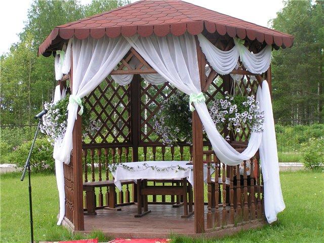 Беседка для свадьбы