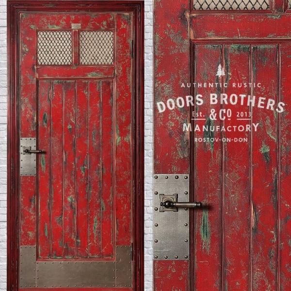 железные двери стиль