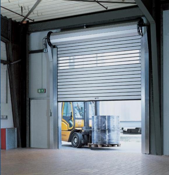 автоматические рулонные ворота промышленные