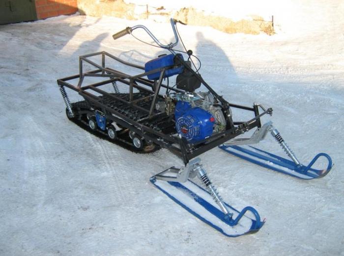 Как сделать гусеницу на самодельный снегоход 354