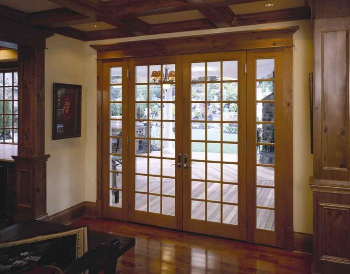 Двери на террасу