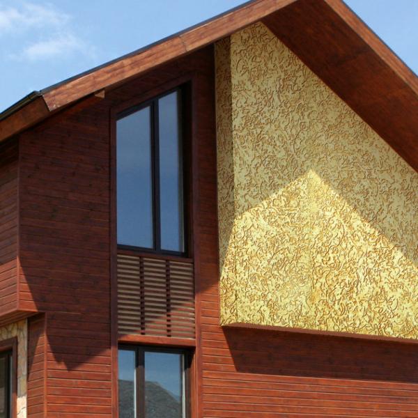 Стоимость работы по отделке фасада дома