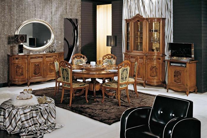 Provence Mobel Style : Geschnitzte möbel