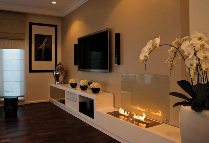 Декор интерьера для гостиной