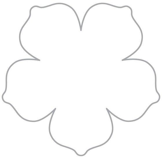 Шаблоны лепестков ромашек из бумаги 381