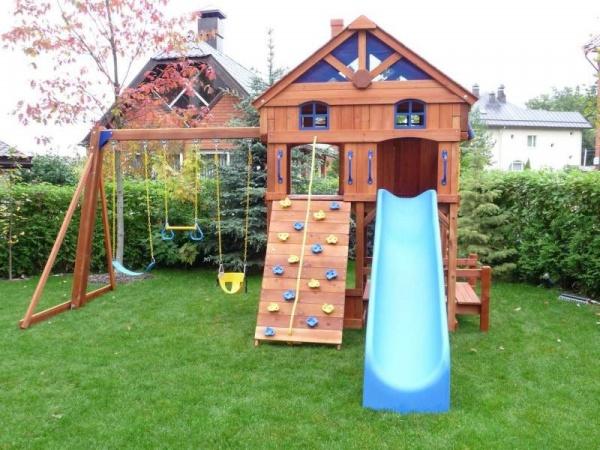 Фото детская площадка на даче своими руками