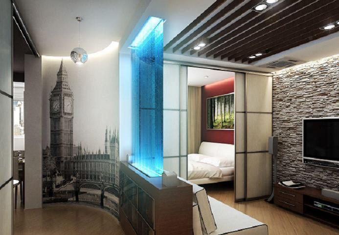 Интерьер однокомнатной квартиры в хрущевке фото