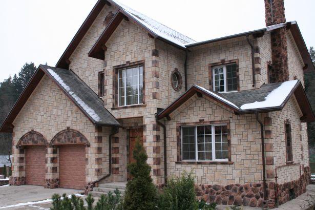 Утепление и фасад дома из бруса