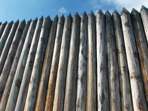 Сделать деревянный забор своими руками фото 648