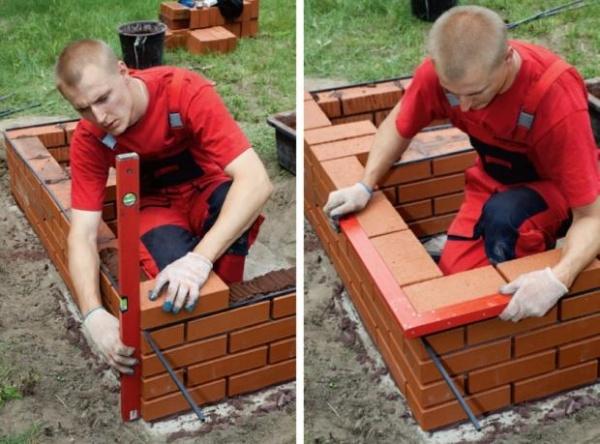 Как построить мангал на даче своими руками из кирпича: особенности.