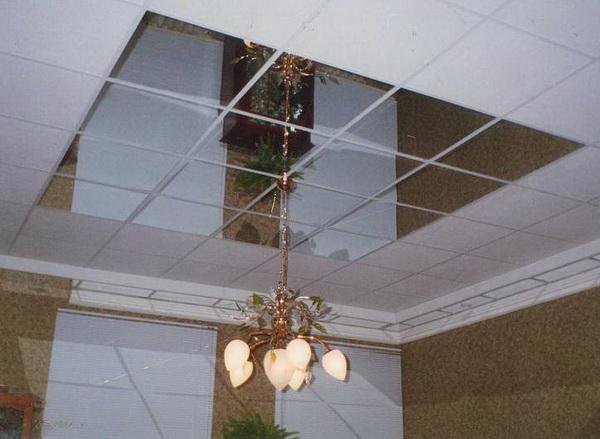 Подвесные модульные потолки