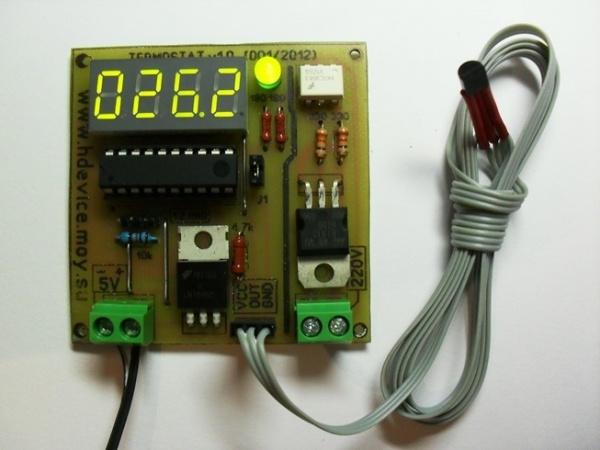 Цифровой терморегулятор в инкубатор своими руками