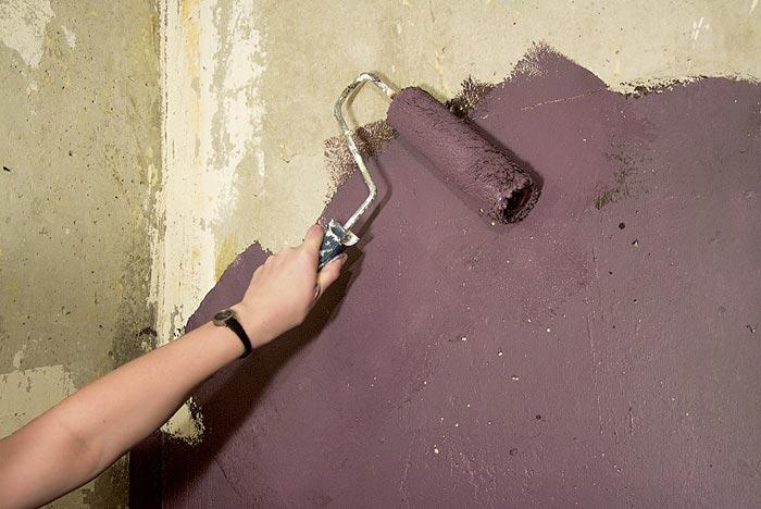 Как сделать бетонные стены своими руками 77