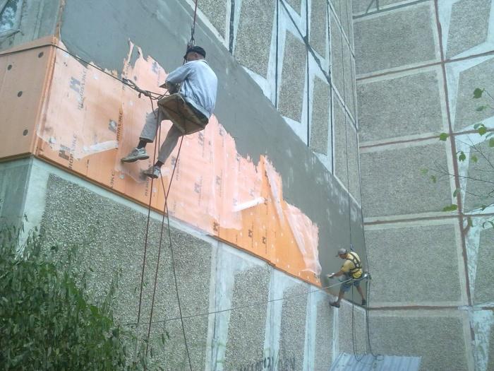 Капитальный ремонт фасада здания что входит