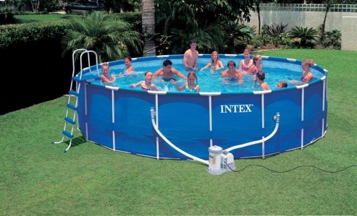 Как заклеить бассейн интекс в домашних условиях 682