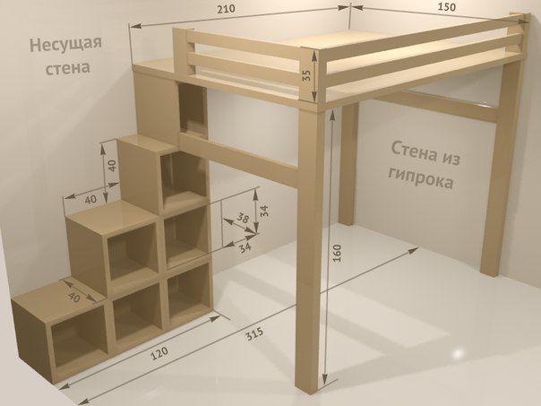 - Como hacer un altillo de madera ...