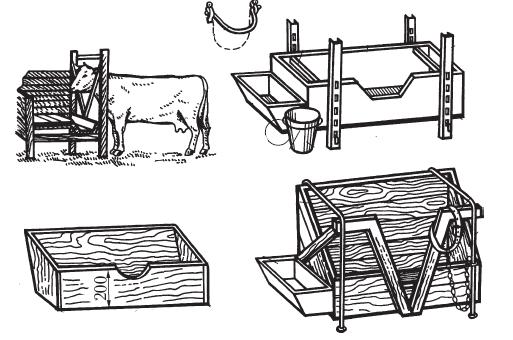 Как сделать корыто для коров