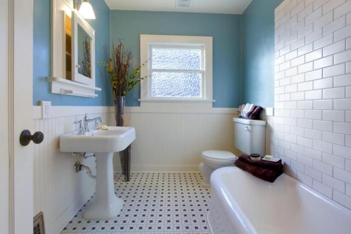 Интерьер ванной комнаты бюджетный мебель в ванную торонто