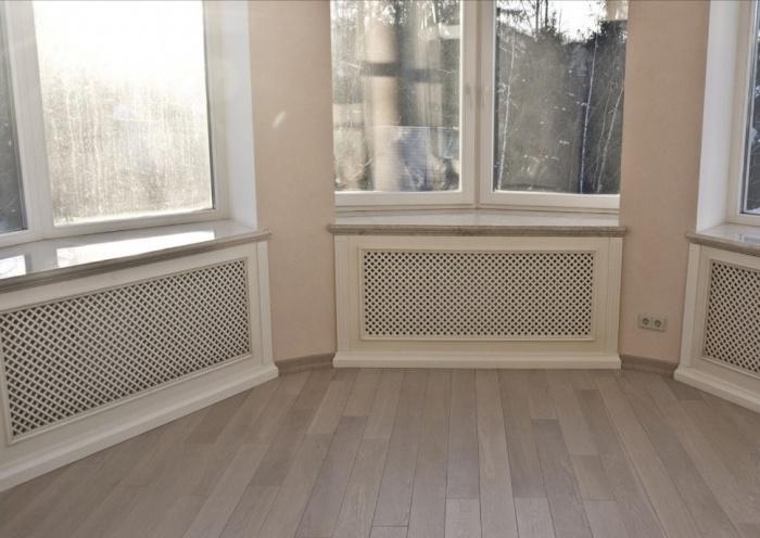 Решётка декоративная 60х120 для радиатора отопления своими руками 9