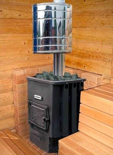 Конструкции теплообменника в банных печах для чего нужен вторичный теплообменник в котле