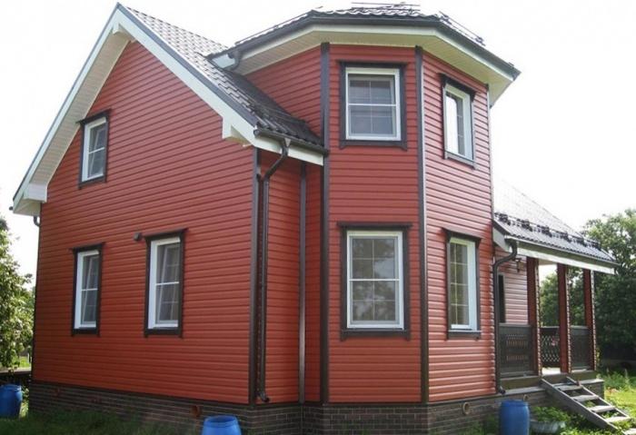 Отделка фасадов домов виды отделки