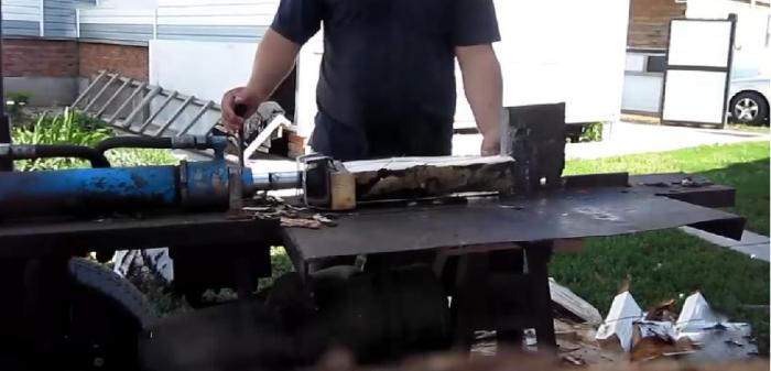 Гидравлический дровокол своими руками чертежи фото инструкции
