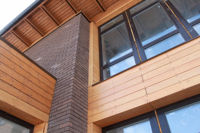 Отделка фасада здания материалы фото