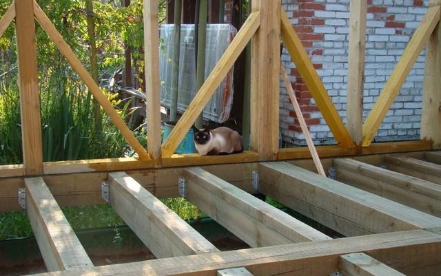 Фотоотчет строительства каркасной бани своими руками 79