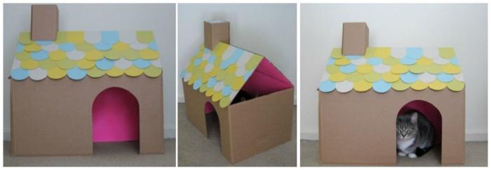 Рамки из картонной коробки своими руками