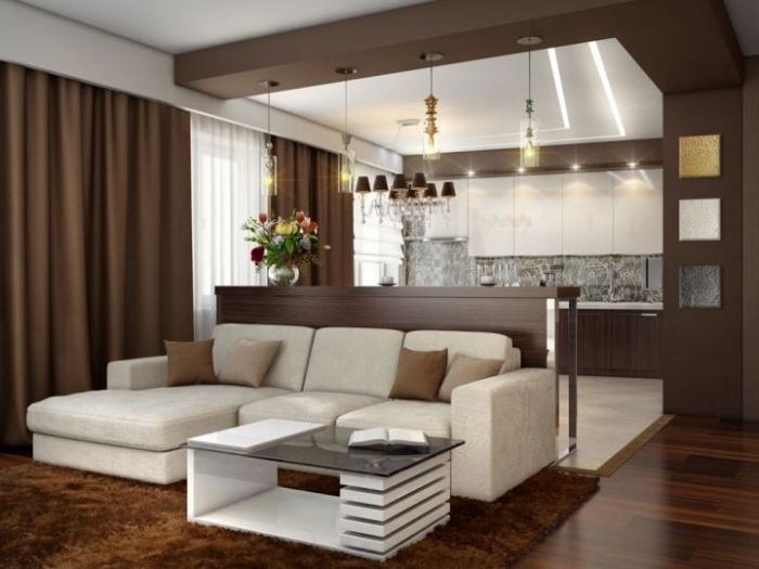 Дизайн кухни гостиной своими руками фото 71