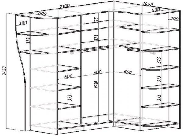 Гардеробная комната своими руками чертежи фото 132
