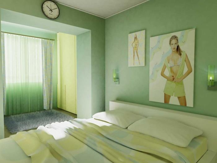 Обои для стен зеленого цвета