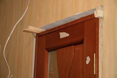Установка дверей из мдф своими руками