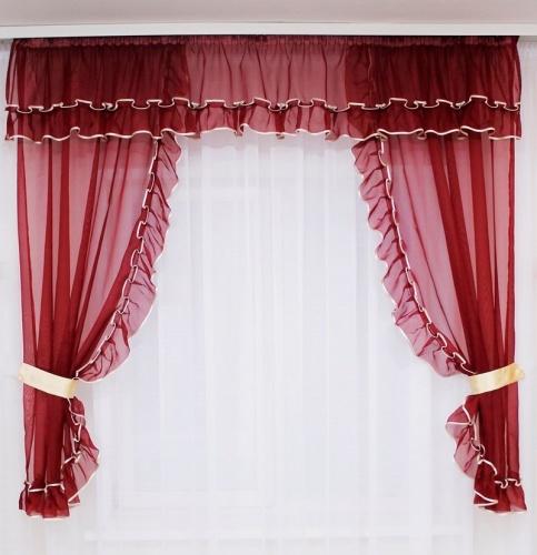 Как сшить короткие шторы своими руками