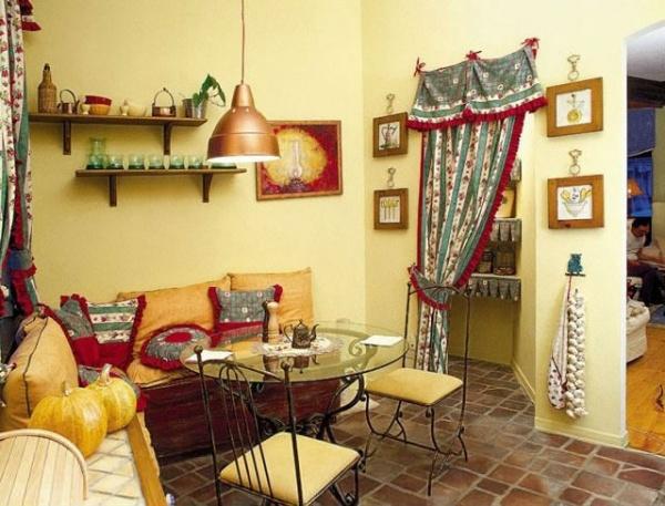 Интерьер кухни в деревенском стиле Русский дом, построй и живи в нем!