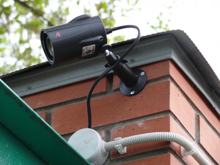 Камеры видеонаблюдения монтаж