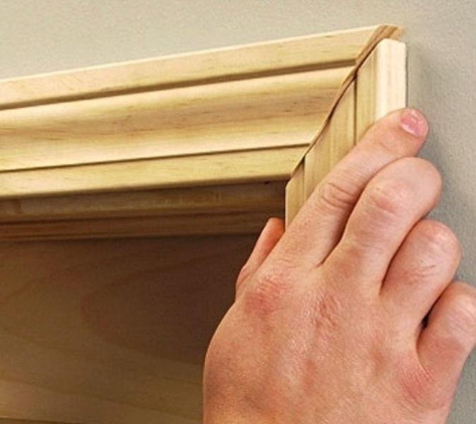 Как сделать обналичники дверей