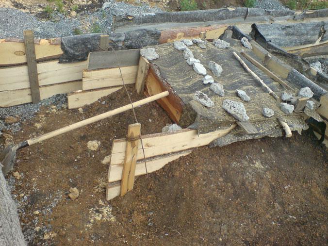 Фундамент под котел в баню своими руками