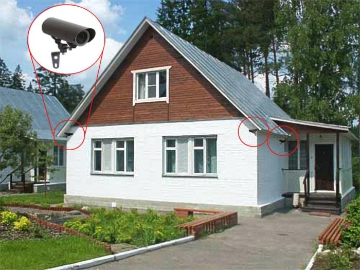 Скрлько стоит установка видеонаблюдения в жилом доме