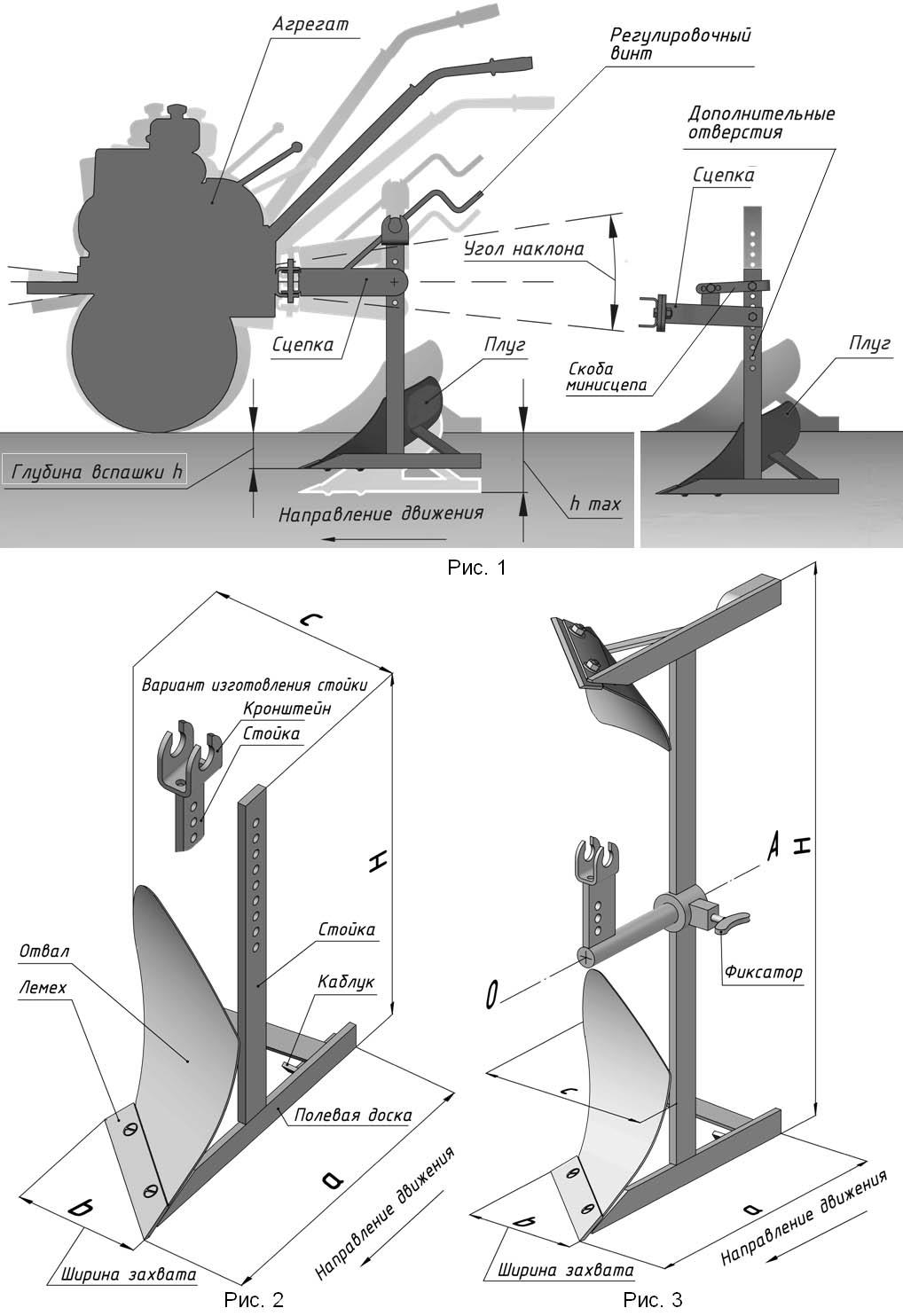 Как сделать плуг для мотоблока нева своими руками чертежи