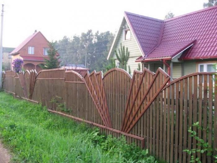 Как сделать забор фото 772