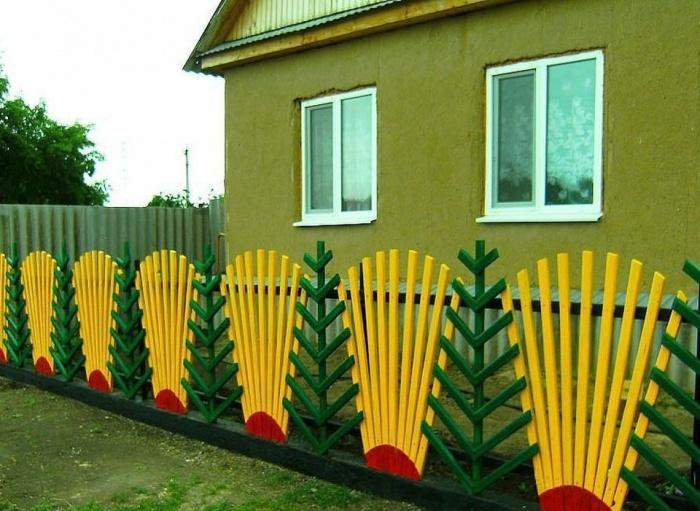 Забор для дачи своими руками из дерева
