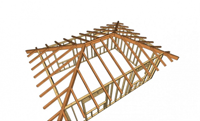 Крыша для дома своими руками вальмовая крыша